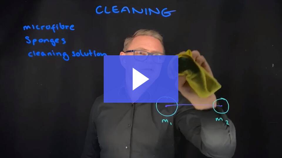 Lightboard Tips - Cleaning your Lightboard